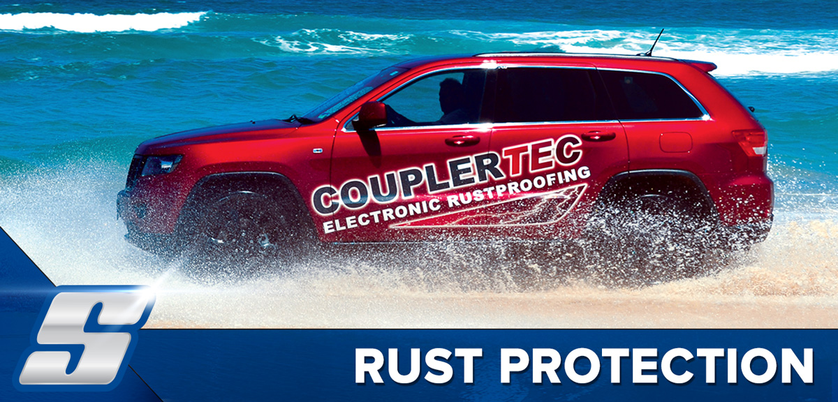 Couplertec Electronic Rust Protection and Prevention Gold Coast