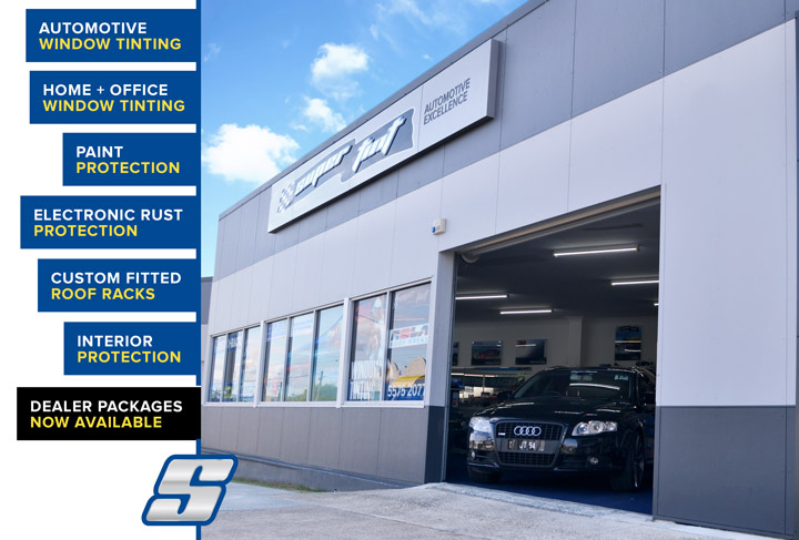 Gold Coast's Car Tint Shop, Supertint